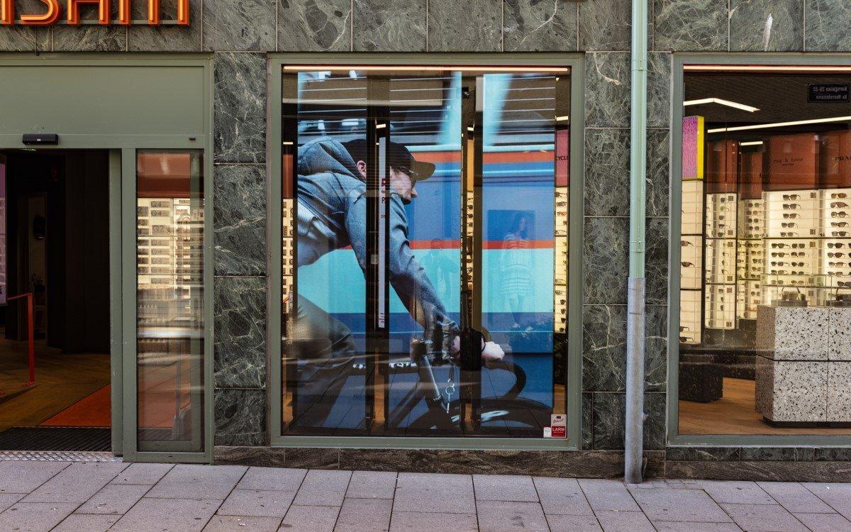 Retail-Tech Installation von Ocean MediaTech, ehemals ACM (Foto: Ocean)