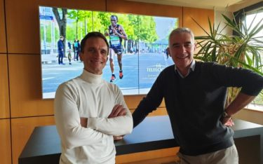Telelogos Gründer Christophe Billaud und President Christophe Justeau (Foto: Telelogos)