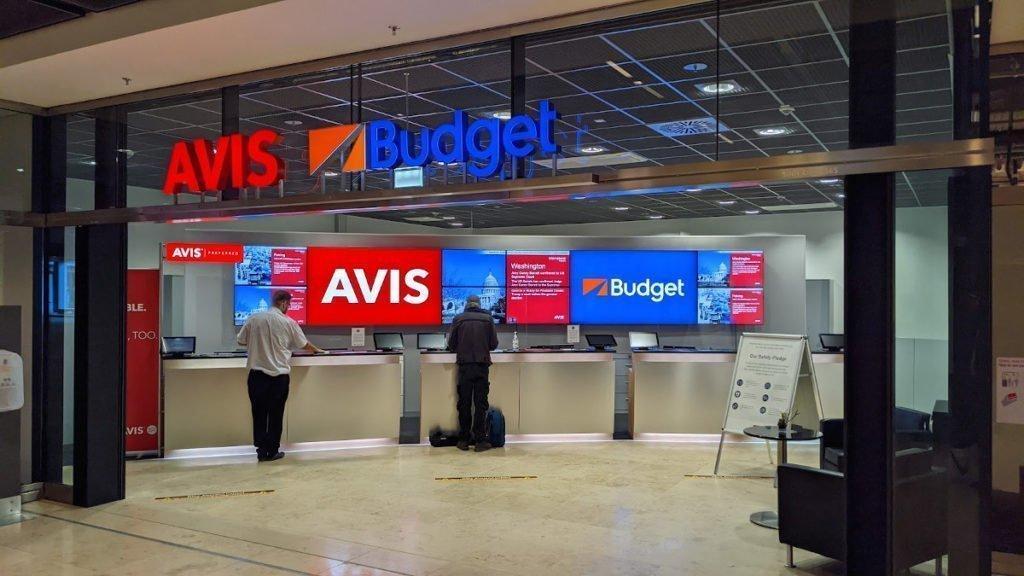 Bei Avis & Budget am BER geht es konventionell zu (Foto: invidis)