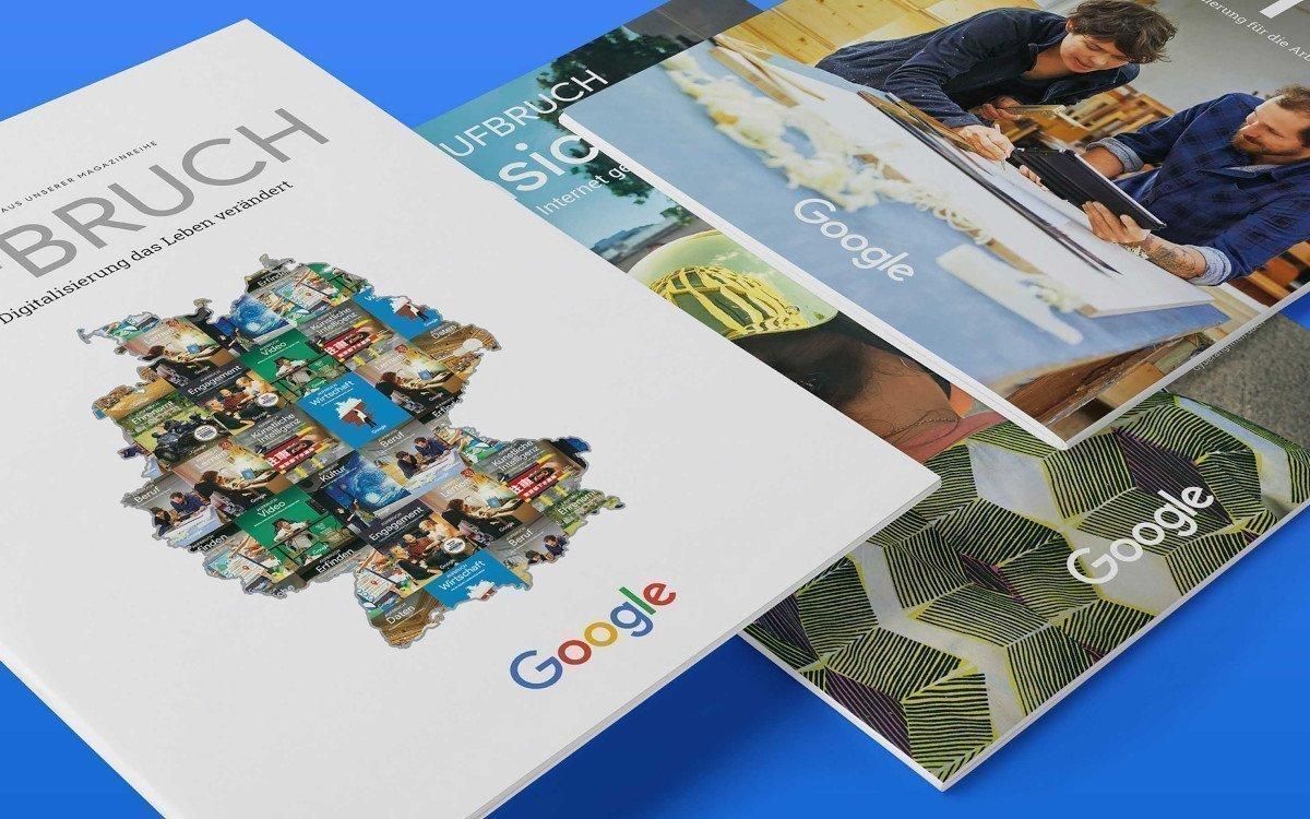 Google Aufbruch Magazin - Produziert von SZ Scala (Foto: SZ Scala)