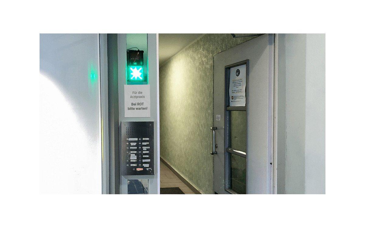 xplace Zutrittslösung für Arztpraxis (Foto: xplace)