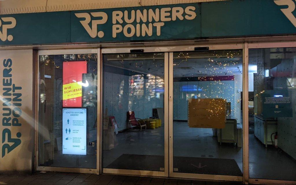 Runners Point Schließt
