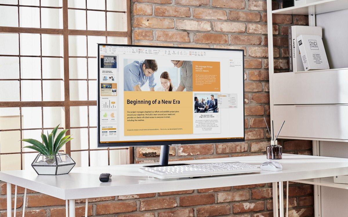 Samsung Smart Monitore bringen Tizen auf den Schreibtisch (Foto: Samsung)