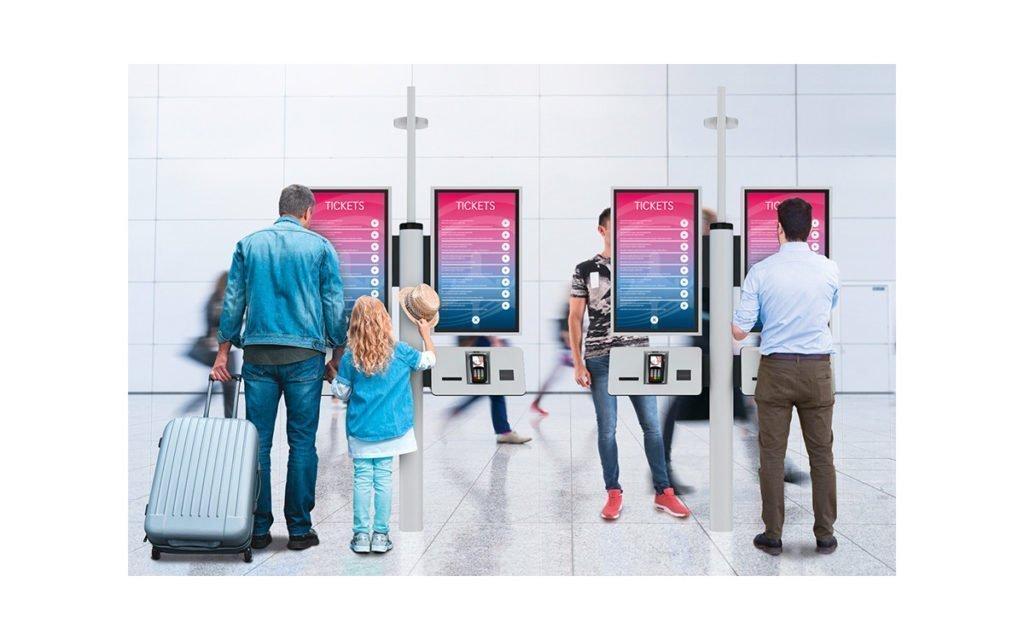Displays dominieren immer mehr das Kiosk-Design (Foto: Pyramid)