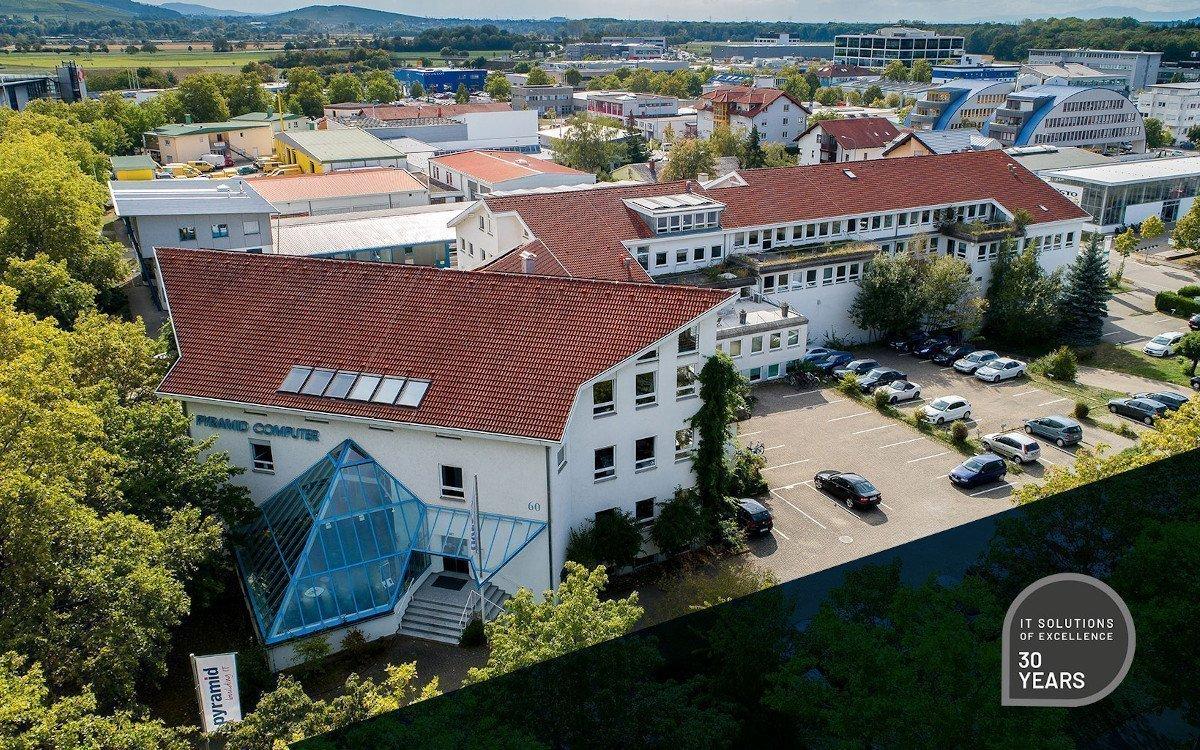 Stammsitz Freiburg - Pyramid Computer beschäftigt 130 Mitarbeiter (Foto: Pyramid)