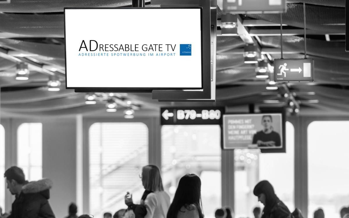 """Goldbach startet """"Adressable Gate TV"""" zur programmatischen Ansteuerung von Flughafen DooH auf Basis von Echtzeit-Flugdaten (Foto: Goldbach)"""
