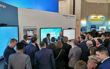 Philips Professional Display Solutions auf der ISE 2020 in Amsterdam (Foto: PPDS)