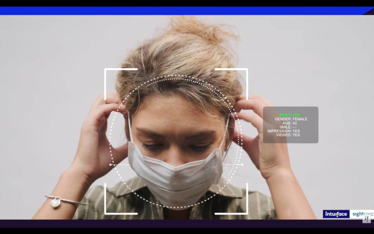Intuiface und Sightcorp bieten künftig ein Bundle für Gesichtserkennungstechnologie für Digital Signage (Foto: Screenshot)