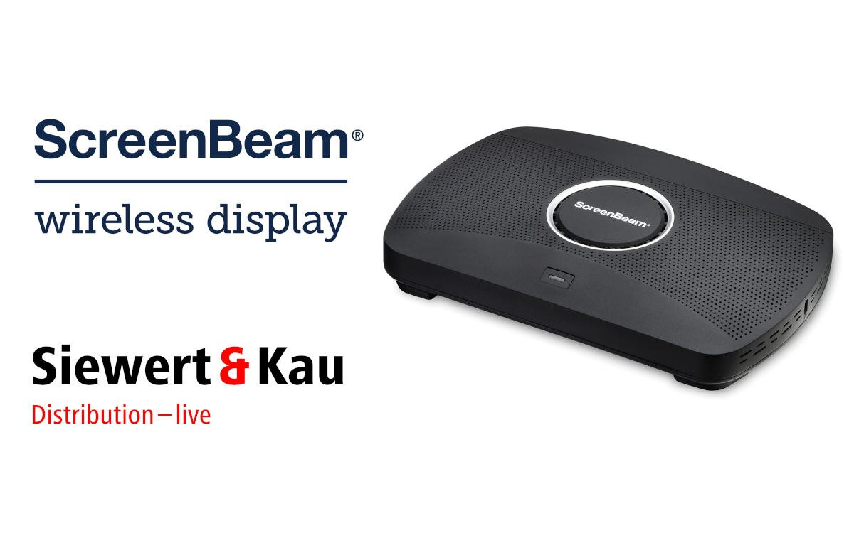 S&K bietet künftig die 1-Klick Collaboration-Lösungen von ScreenBeam in DACH an (Foto: S&K/ScreenBeam)