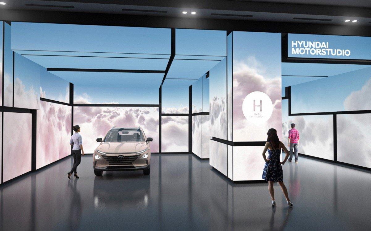 Hyundai Motorstudio Showroom in Seoul (Foto: (Foto: Hyundai/flora&faunavisions)