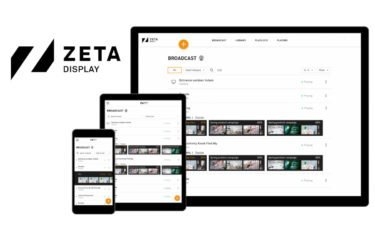 Cloudbasiert und mehr Funktionen – ZetaDisplay launcht die Next-Gen Version seines Digital Signage-CMS 'Engage' (Foto: ZetaDisplay)