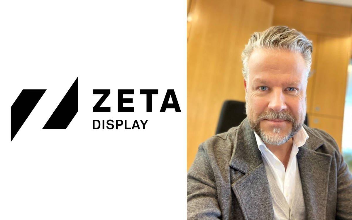 René De Jong ist neuer Sales Director bei Zeta Display Niederlande (Foto: ZetaDisplay)