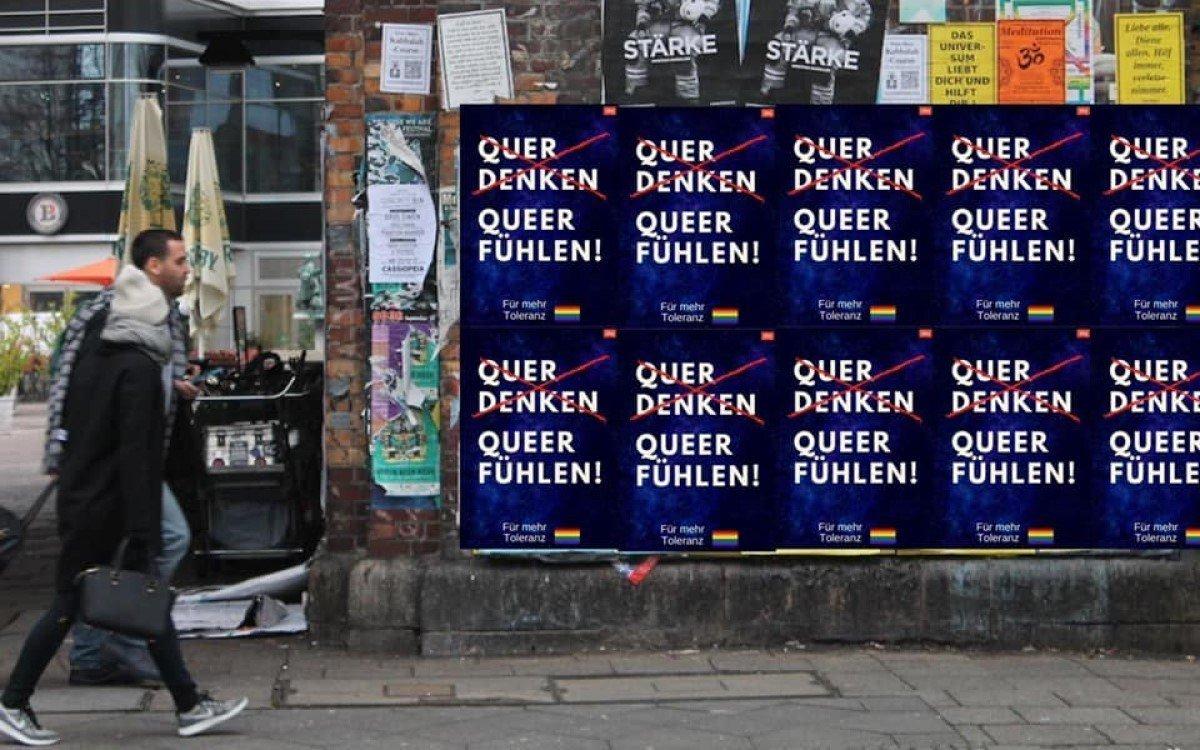 Kampagne der Berliner Agentur Ultra OOH (Foto: Ultra OOH)