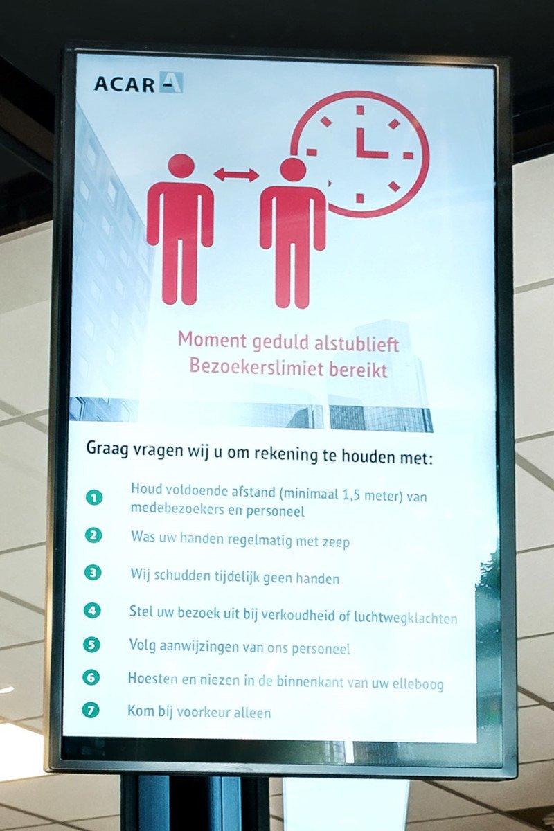 Philips People Count mit Bosch Security im Office Einsatz (Foto: Philips PPDS)