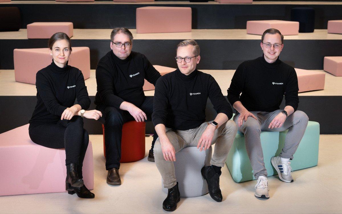 Framen Gründer & Management (Foto: Axel Springer)