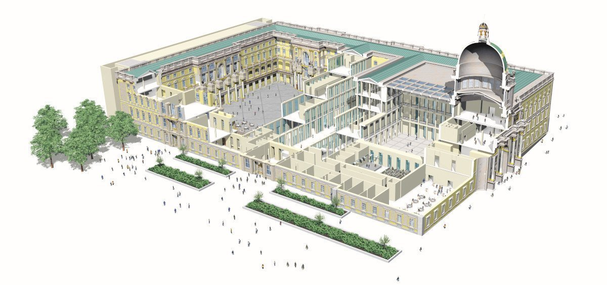 Humboldt Forum Berlin (Foto: SHF / Golden Section Graphics)