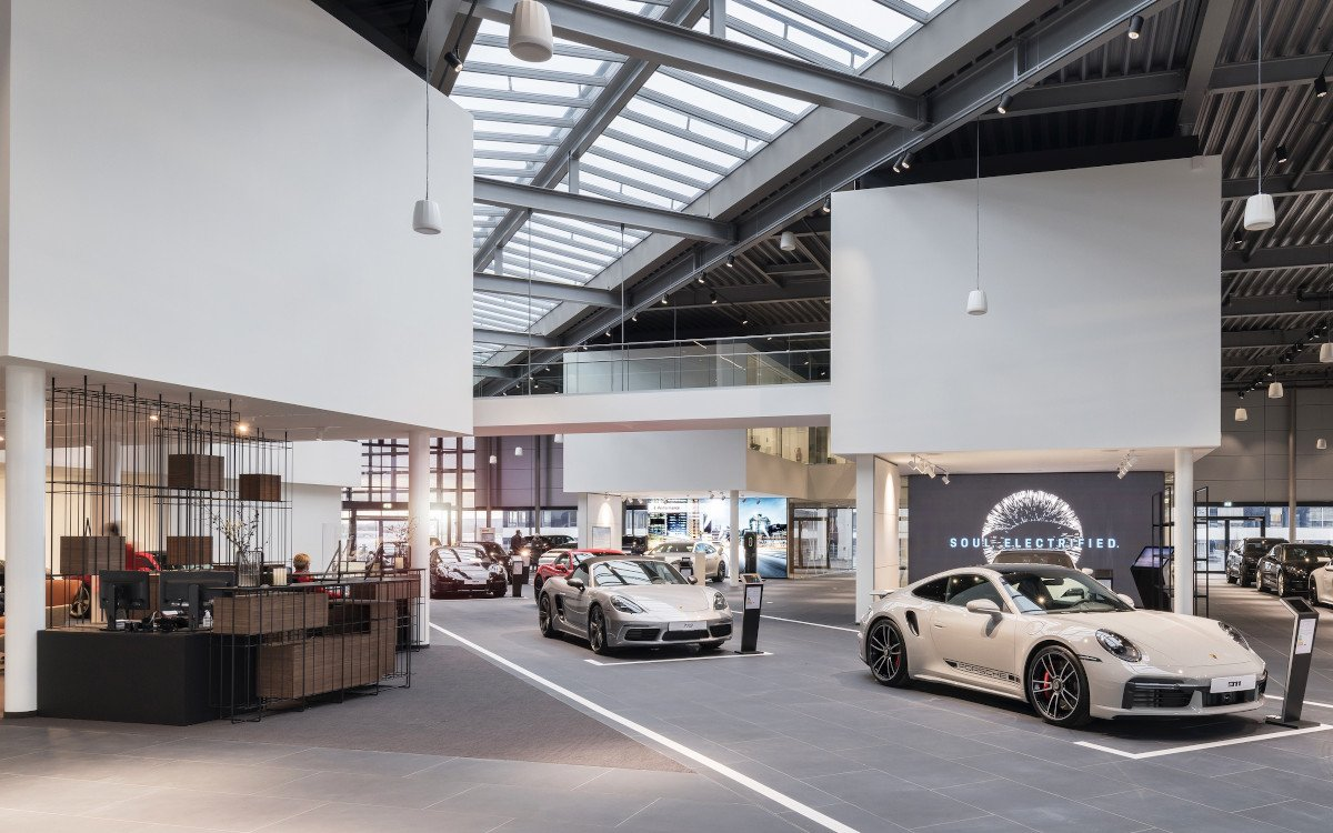 Porsche Zentrum am Dortmunder Flughafen (Foto: Porsche AG)