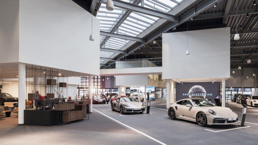 "Das Retail-Konzept ""Destination Porsche"" (Foto: Porsche AG)"