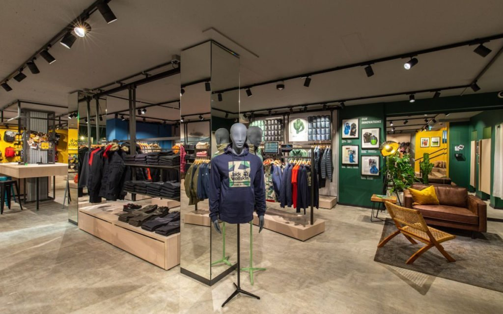 Jack Wolfskin neues Storekonzept in Düsseldorf (Foto: Jack Wolfskin)