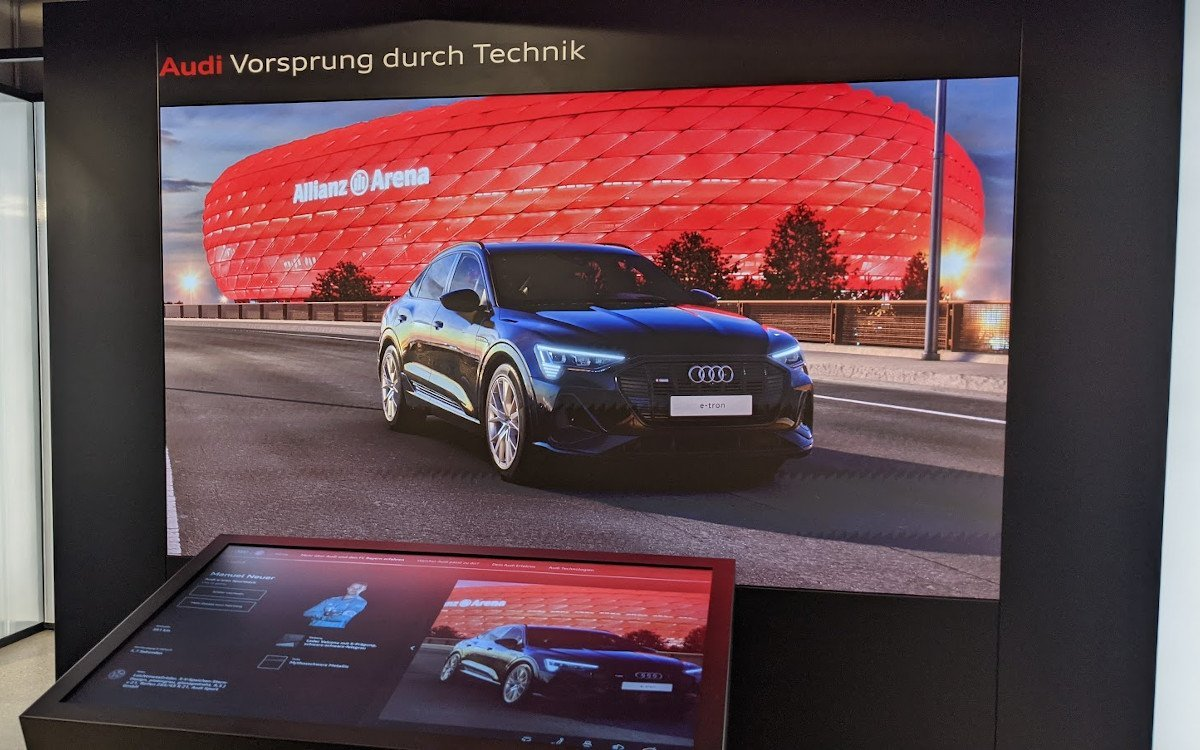 Audi Car Configurator Fan Edition - Auswahl Manuel Neuer (Foto: invidis)