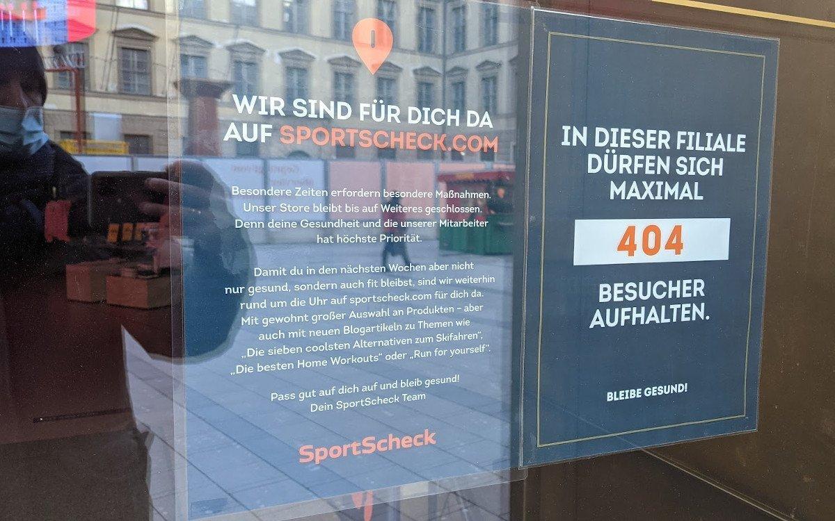 Sport Scheck hat reichlich Platz (Foto: invidis)