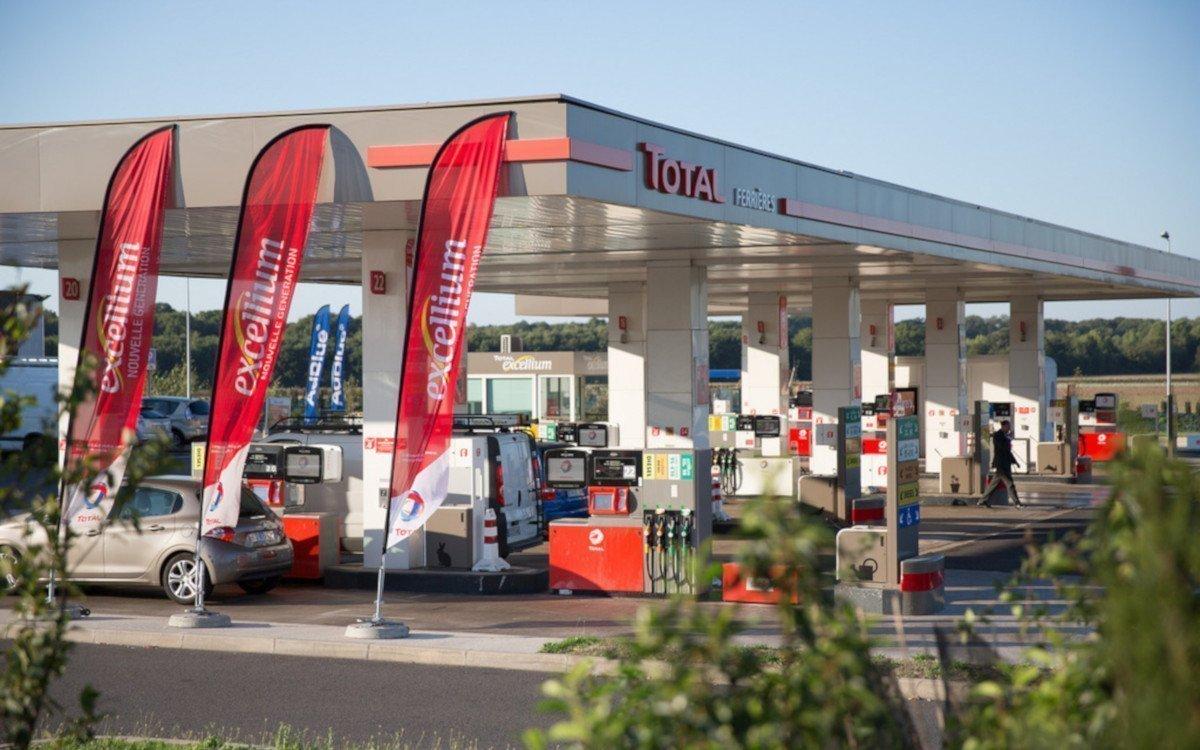 Total Tankstelle Symbolbild (Foto: Julien Luttenbacher / Total)