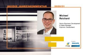Michael Reichard von Expromo im invidis Jahreskommentar 2020|2021 (Foto: Expromo)