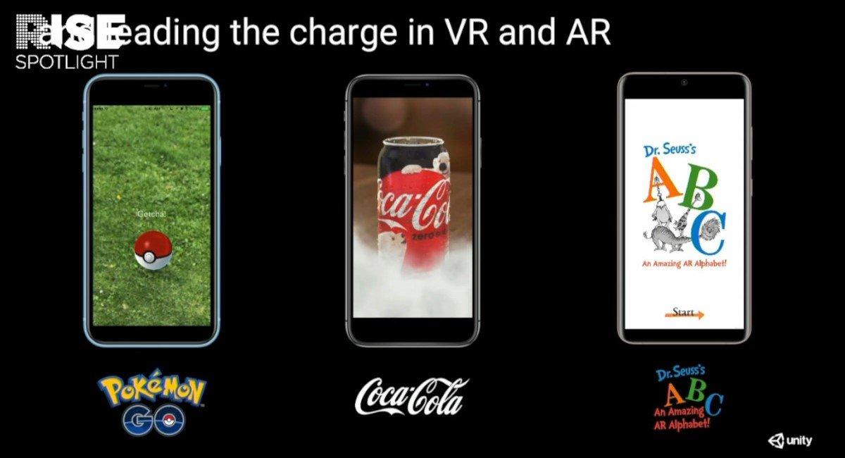 RISE Spotlight – AR hat sich auf Smartphones etabliert (Foto: Screenshot)