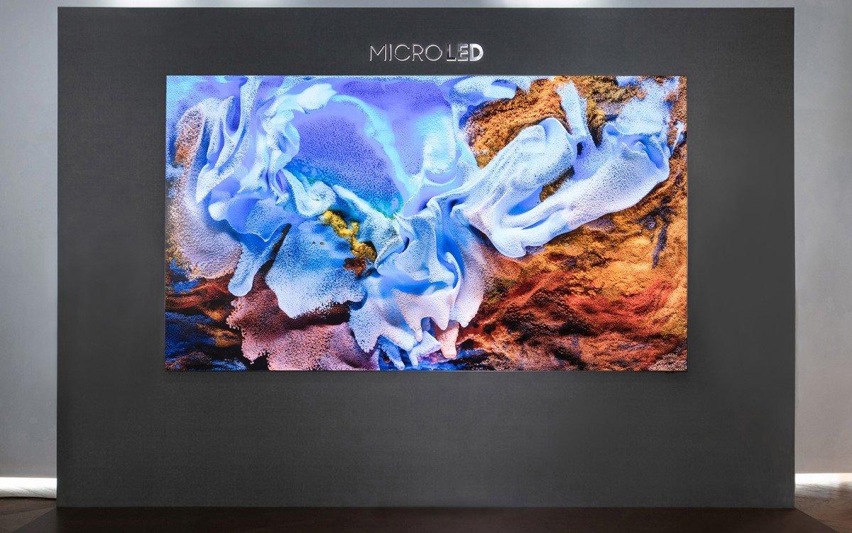 "Samsung ""MicroLED"" (Foto: Samsung)"