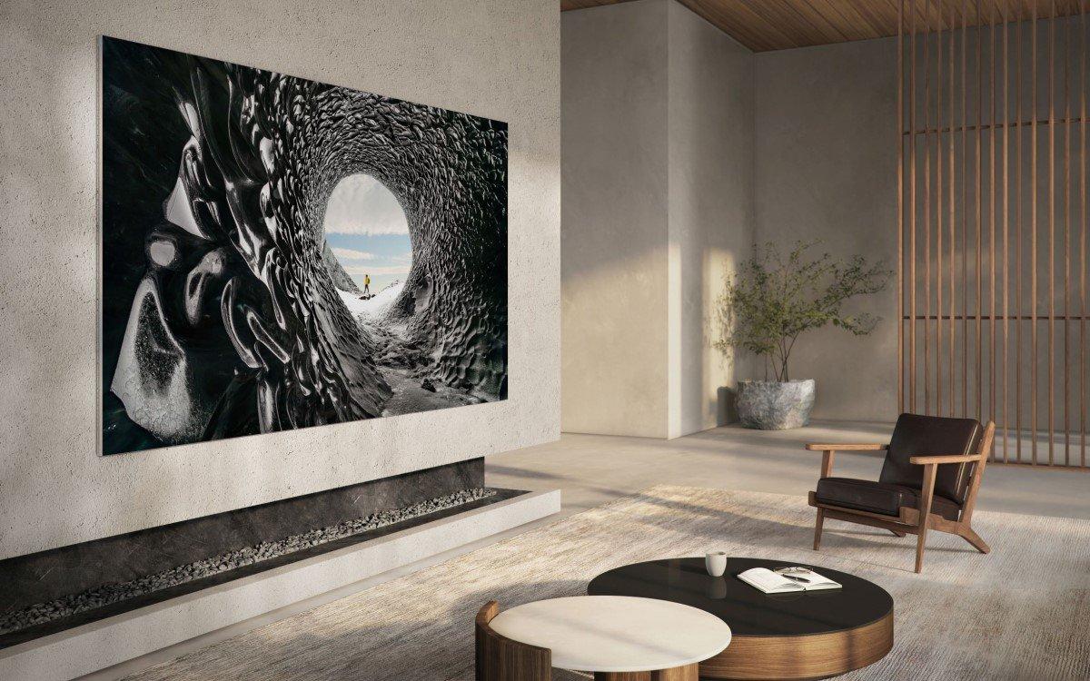 """Samsung """"MicroLED"""" – Der neue MicroLED-TV für den Consumer Bereich (Foto: Samsung)"""