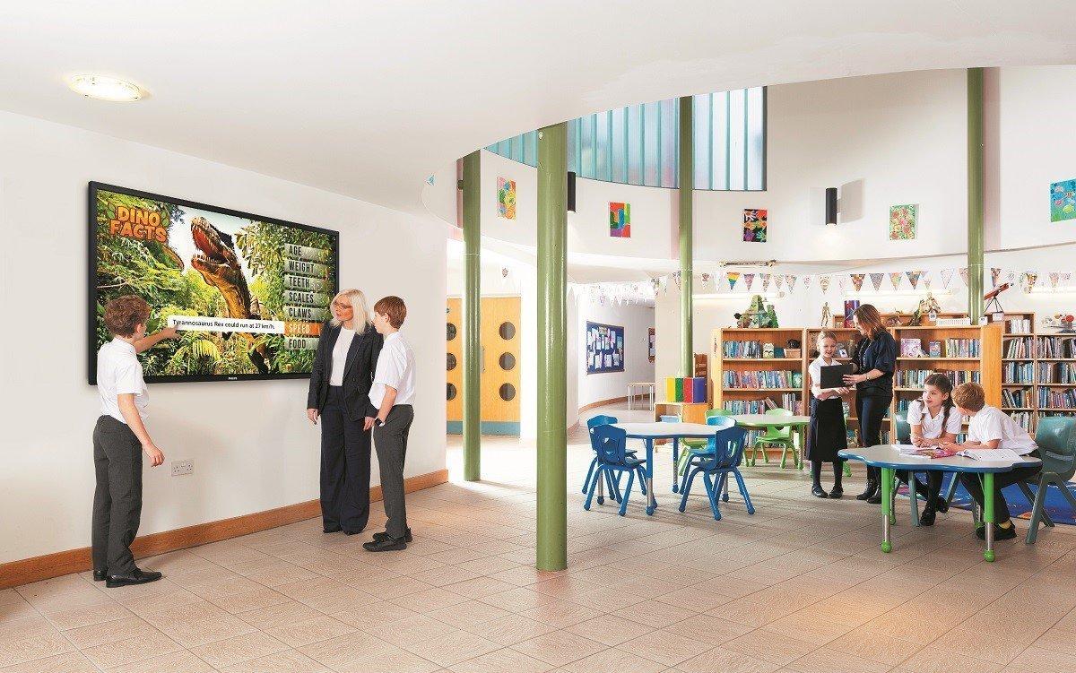 Die T-Line von Philips speziell für den Bildungsbereich (Foto: Philips PDS)