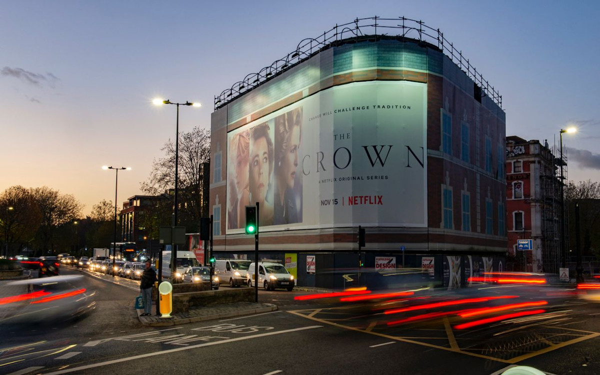 Netflix Blowup-Kampagne in London (Foto: Blowup)