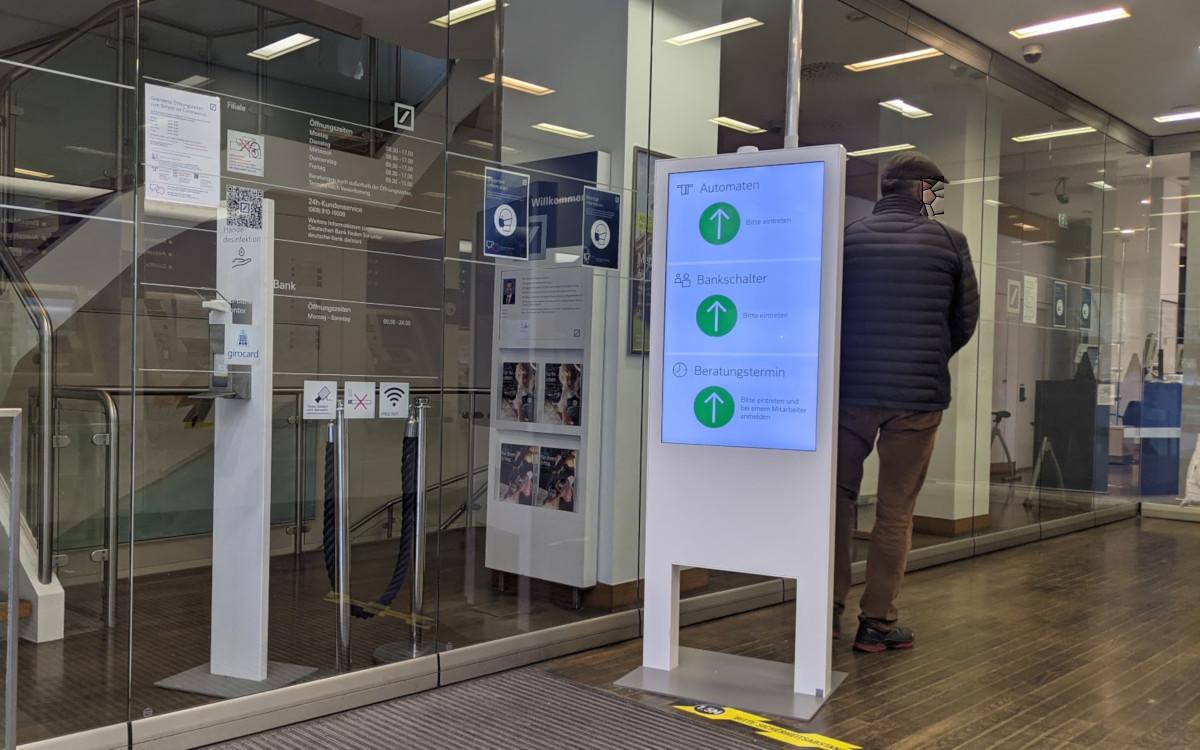 Deutsche Bank Kundentrittsmanagement in München (Foto: invidis)