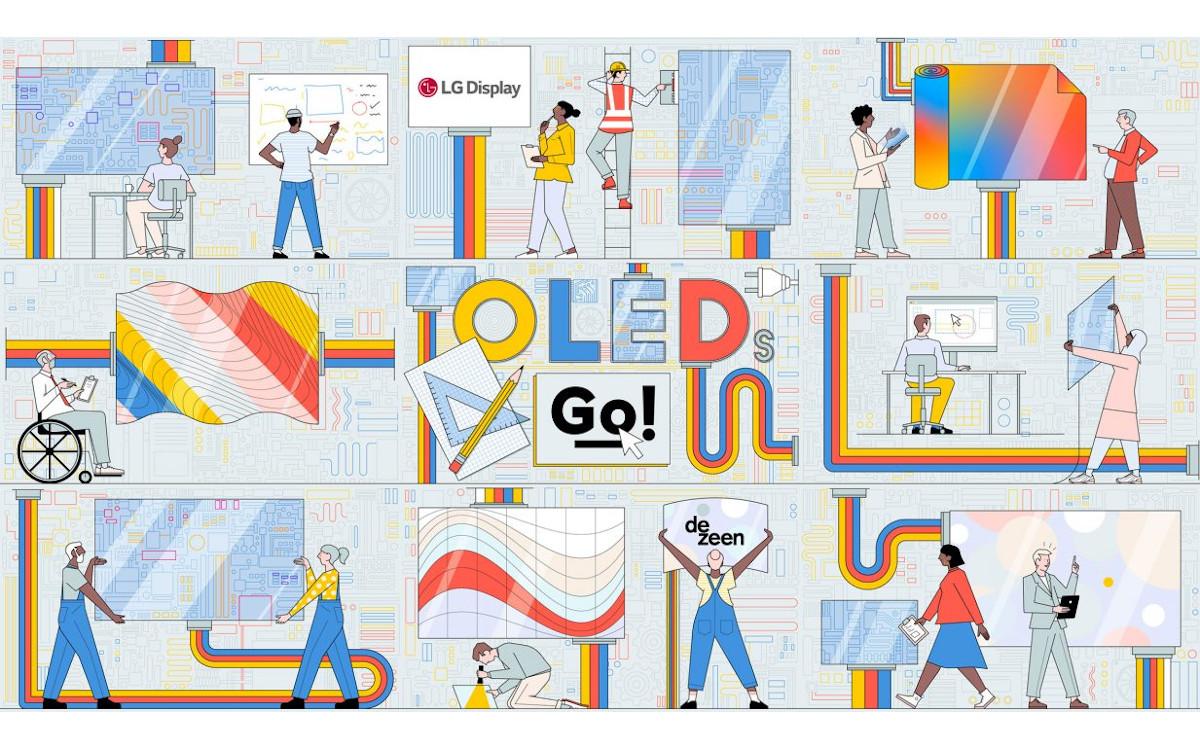 OLED Go Design Wettbewerb von Dezeen und LG (Foto: Dezeen)