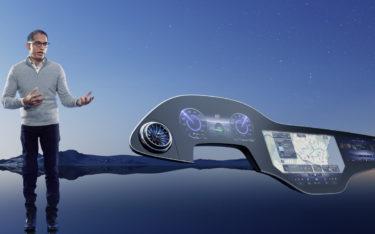 141 cm breites Display - der neue MBUX-Hyperscreen präsentiert von Sajjad Khan, CTO Mercedes Benz (
