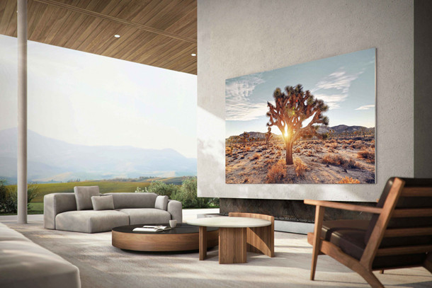 The Wall for Home heißt einfach nur Micro LED (Foto: Samsung)