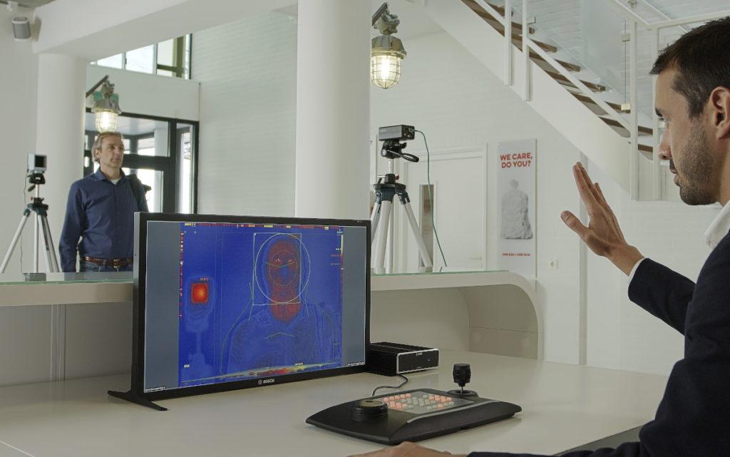 Corona-Lösung Thermokamera von Bosch (Foto: Bosch)