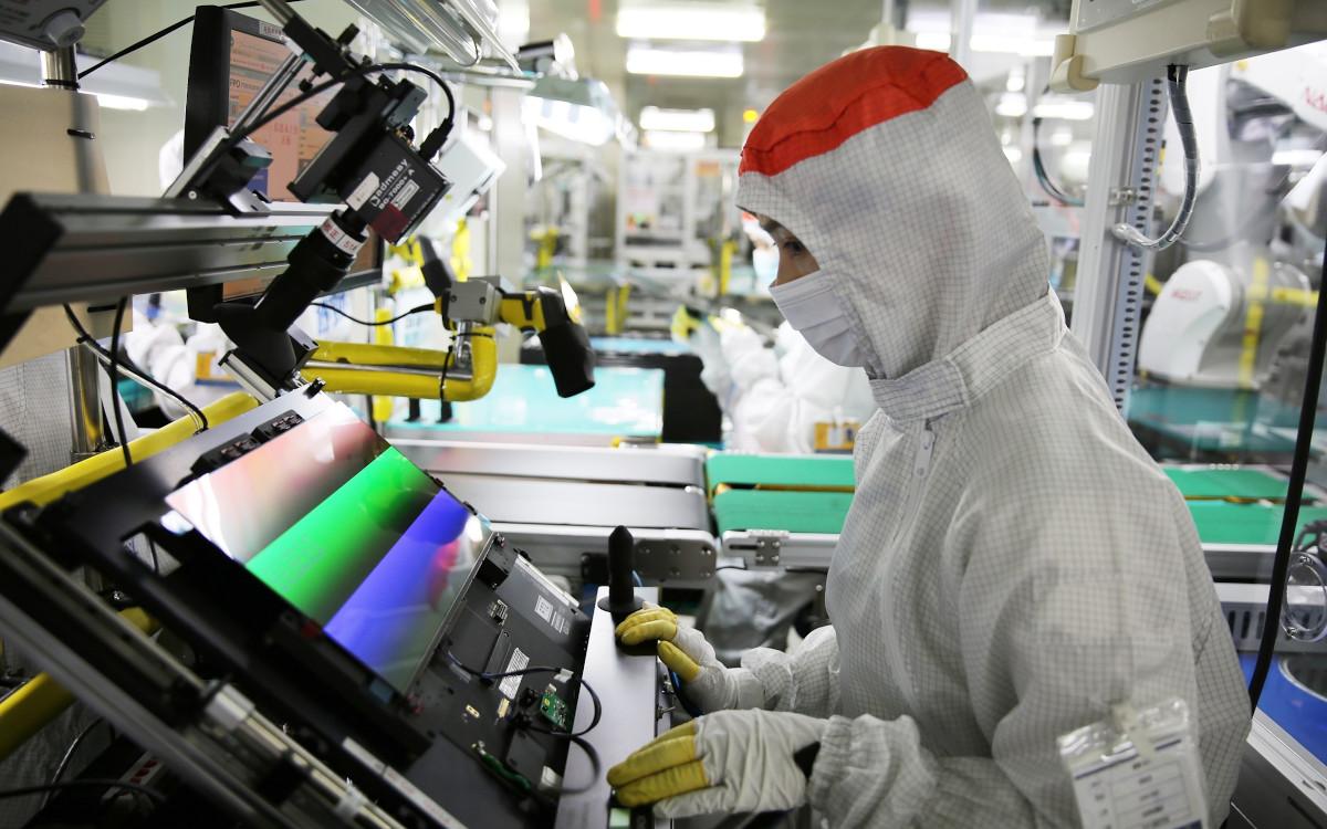 OLED mit 90HZ Produktion bei Samsung Display (Foto: Samsung Display)