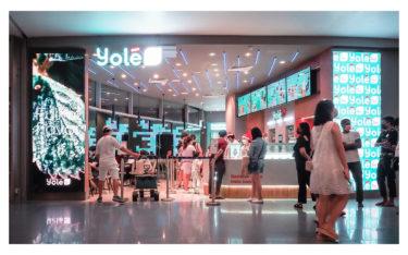 Yole Flagship in Singapur - Signage meets Dessert (Foto: Yole)