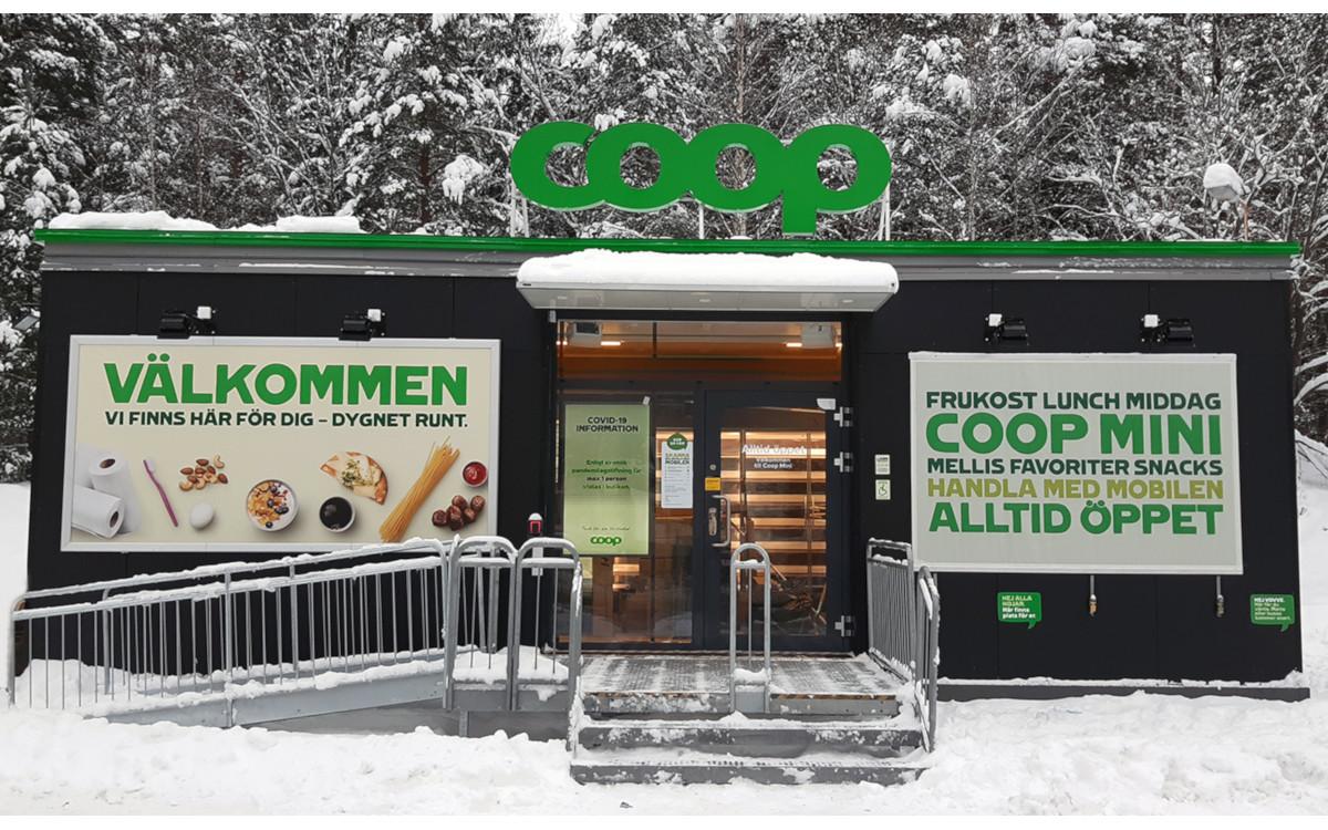 Coop Mini Gävle in Schweden (Foto: Coop)