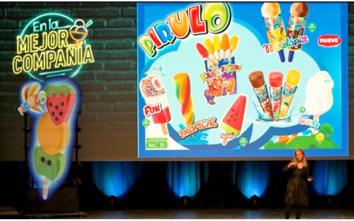 Hypervsn 3D-Wall bei Nestle in Spanien (Foto: Screenshot)