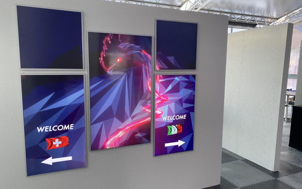 Red Bull Displays auf der Streif (Foto: Red Bull)