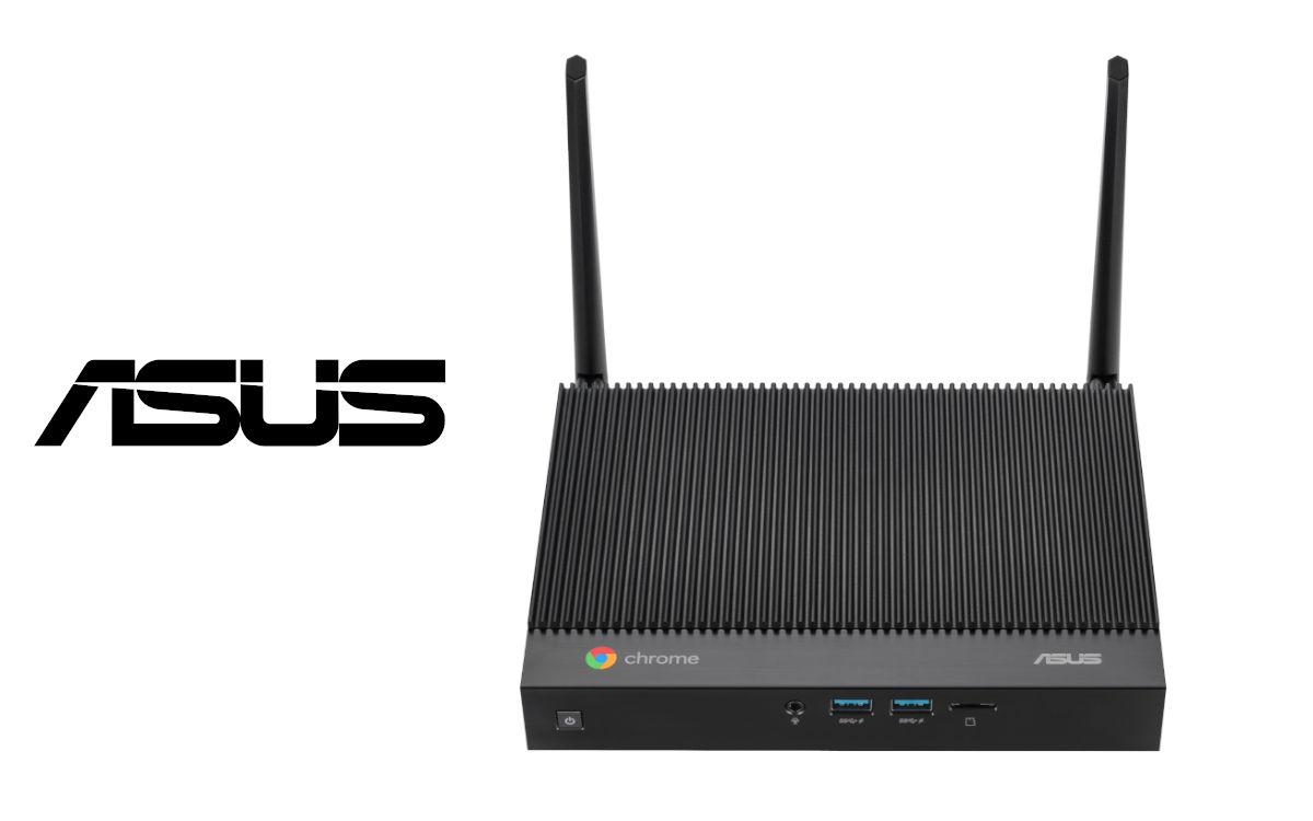 Die lüfterlose Asus Fanless Chromebox ähnelt optisch einem Router (Foto: Asus)