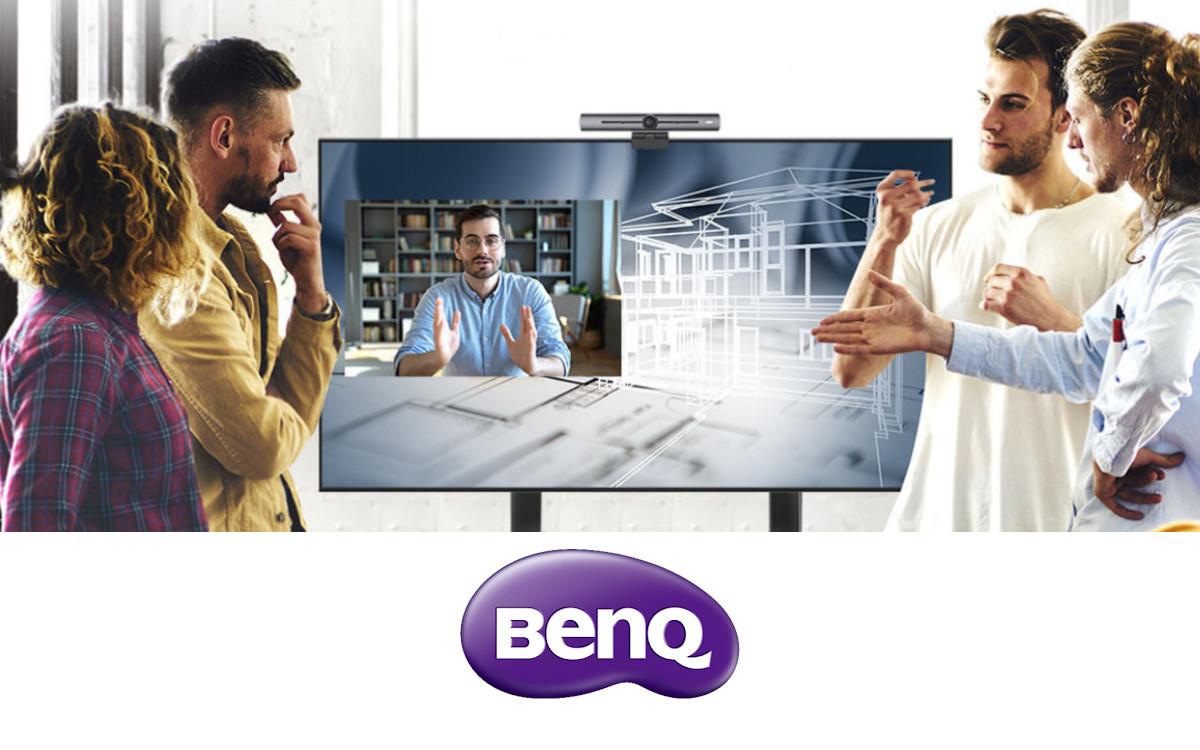 Die BenQ CS-Serie ist für Präsentationen und Videokonferenzen konzipiert (Foto: BenQ)