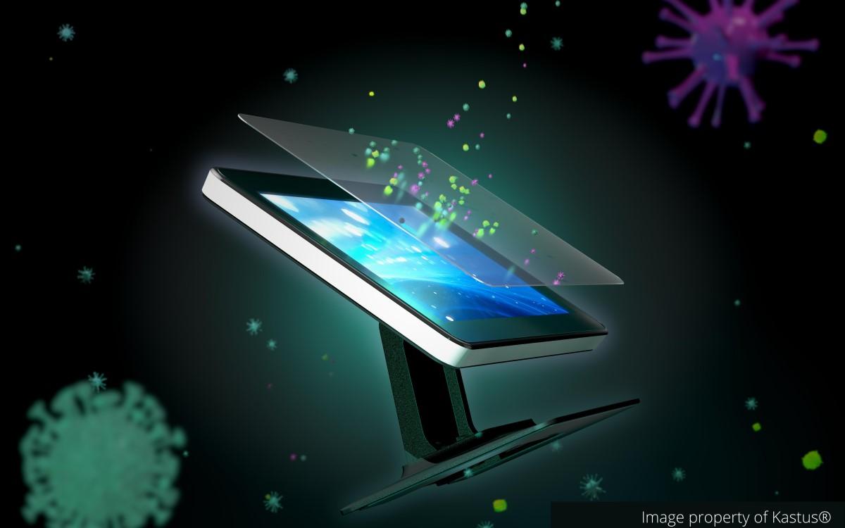 Lenovo bietet künftig antimikrobielle Schutzfolien für Touchdisplays sowie eigene Lösungen mit Coating von Kastus an (Foto: Kastus)