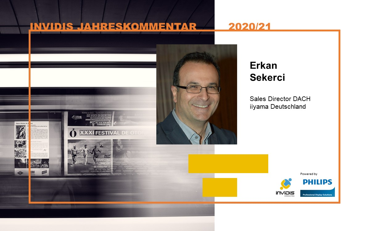 Erkan Sekerci, Sales Director DACH bei iiyama, im invidis Jahreskommentar 2020|2021 (Foto: iiyama)