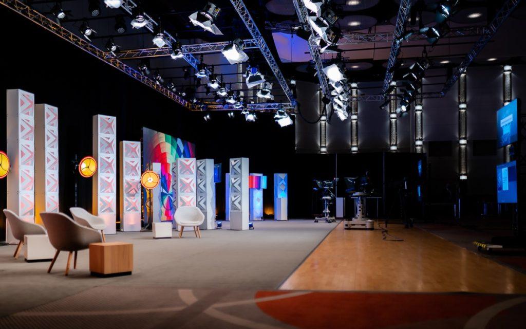 satis&fy Streaming-Studio in Düsseldorf (Foto: satis&fy)