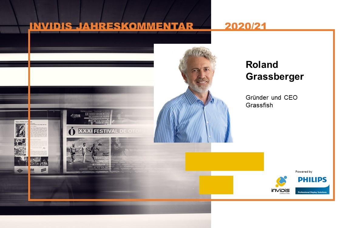 Roland Grassberger, CEO und Gründer von Grassfish, im invidis Jahreskommentar 2020|2021 (Foto: Grassfish)