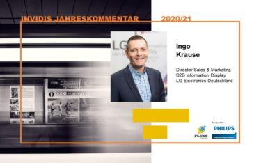 Ingo Krause, Director Sales & Marketing B2B Information Display bei LG Electronics Deutschland, im invidis Jahreskommentar 2020|2021 (Foto: LG)