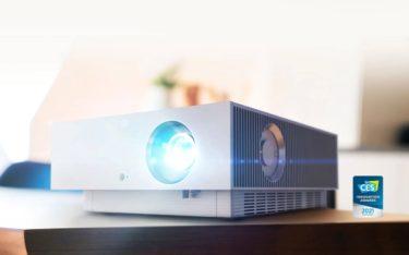 Der neue LG CineBeam HU810P Forte ist ein 4K Allround-Heimkino-Projektor (Foto: LG)